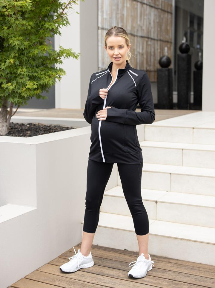 Maternity & Nursing Active Workout Jacket