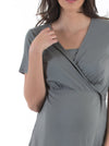 Maternity/ Nursing Comfortable Wrap Top