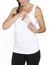 Basic Breastfeeding Nursing Tank - Grey/ Black/ White - Angel Maternity - Maternity clothes - shop online