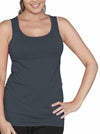 Maternity Basic Nursing Tank in Dark Teal - Angel Maternity - Maternity clothes - shop online