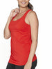 Basic Maternity Nursing Tank in Persimmon Red - Angel Maternity - Maternity clothes - shop online