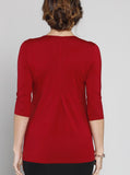 Nursing Top - Red back
