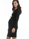 ribbed maternity dress