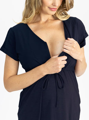 nursing dress details