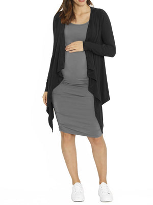 Ruby Joy Waterfall Bamboo Long Cardigan - online maternity store cheap organic