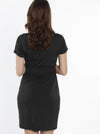 TMD - The Mummy Drawstring Dress - Black - Angel Maternity - Maternity clothes - shop online