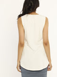 Ruby Joy - The Swing Tank with Nursing Opening - White maternity store sydney