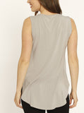 Ruby Joy - The Swing Tank with Nursing Opening - Grey