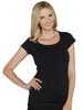 Basic Breastfeeding Nursing Tee - Black/ Grey/ White - Angel Maternity - Maternity clothes - shop online