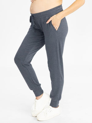 Maternity Loungewear Set in Navy