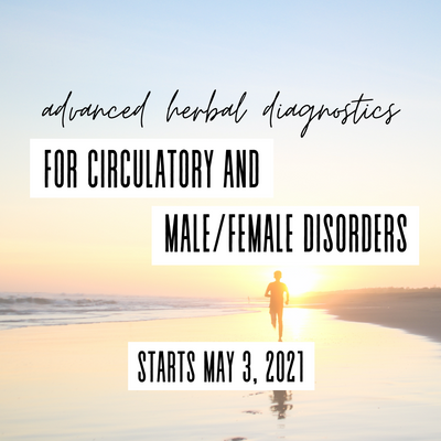 Advanced Herbal Diagnostics for Circulatory and Male/Female Disorders Course