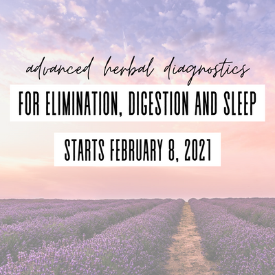 Advanced Herbal Diagnostics for Elimination, Digestion and Sleep Course
