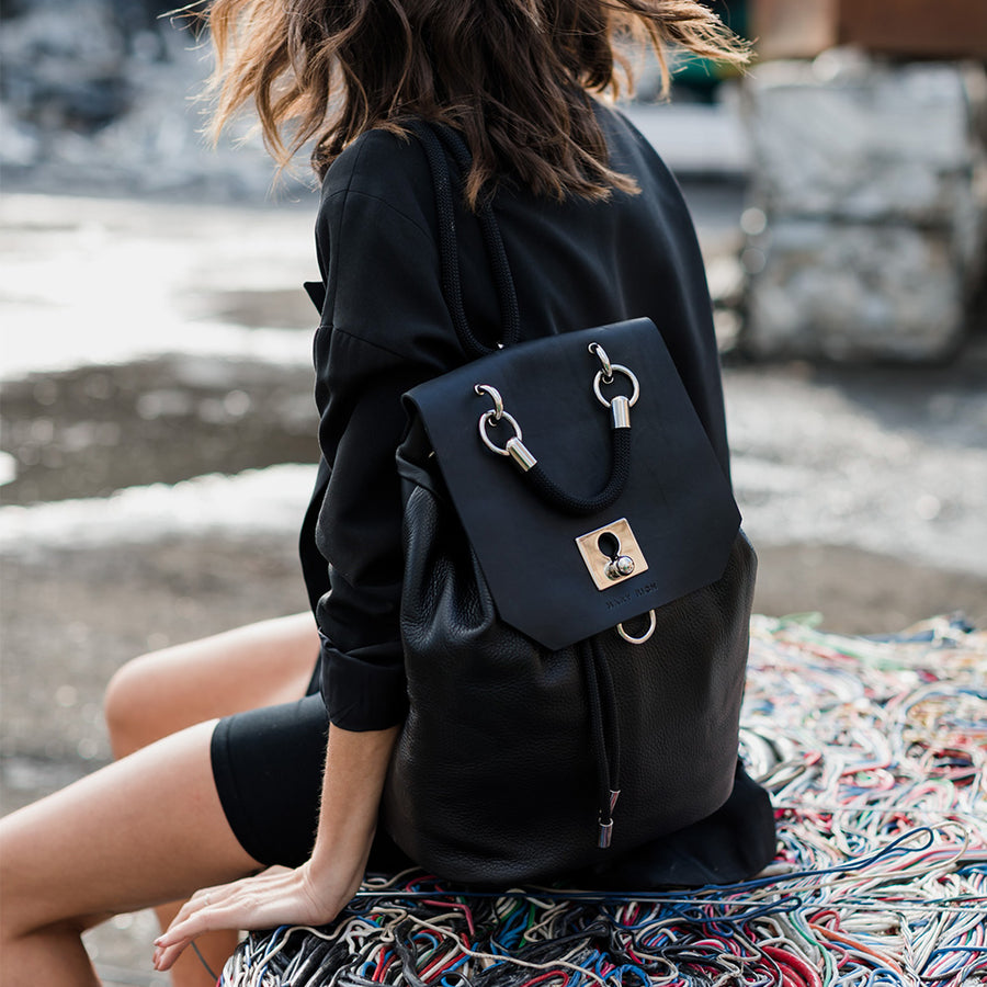 Backpack No. 215 Black