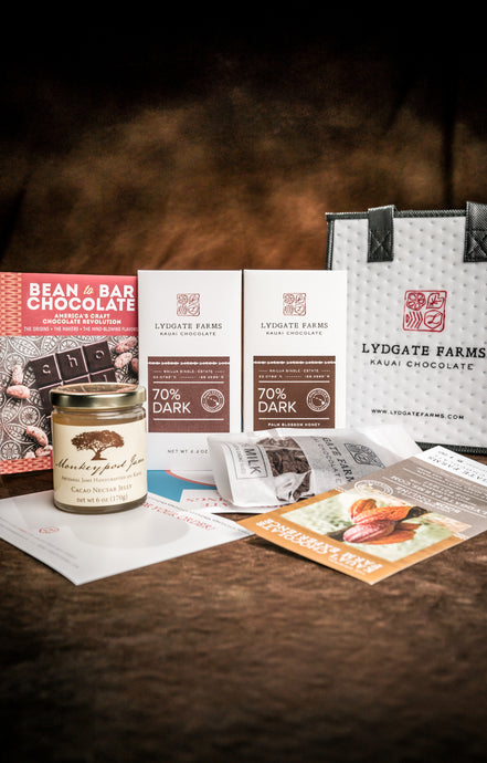 Guided Chocolate Tasting with Chocolate Noise and Lydgate Farms with Archived Video from May 19th tasting