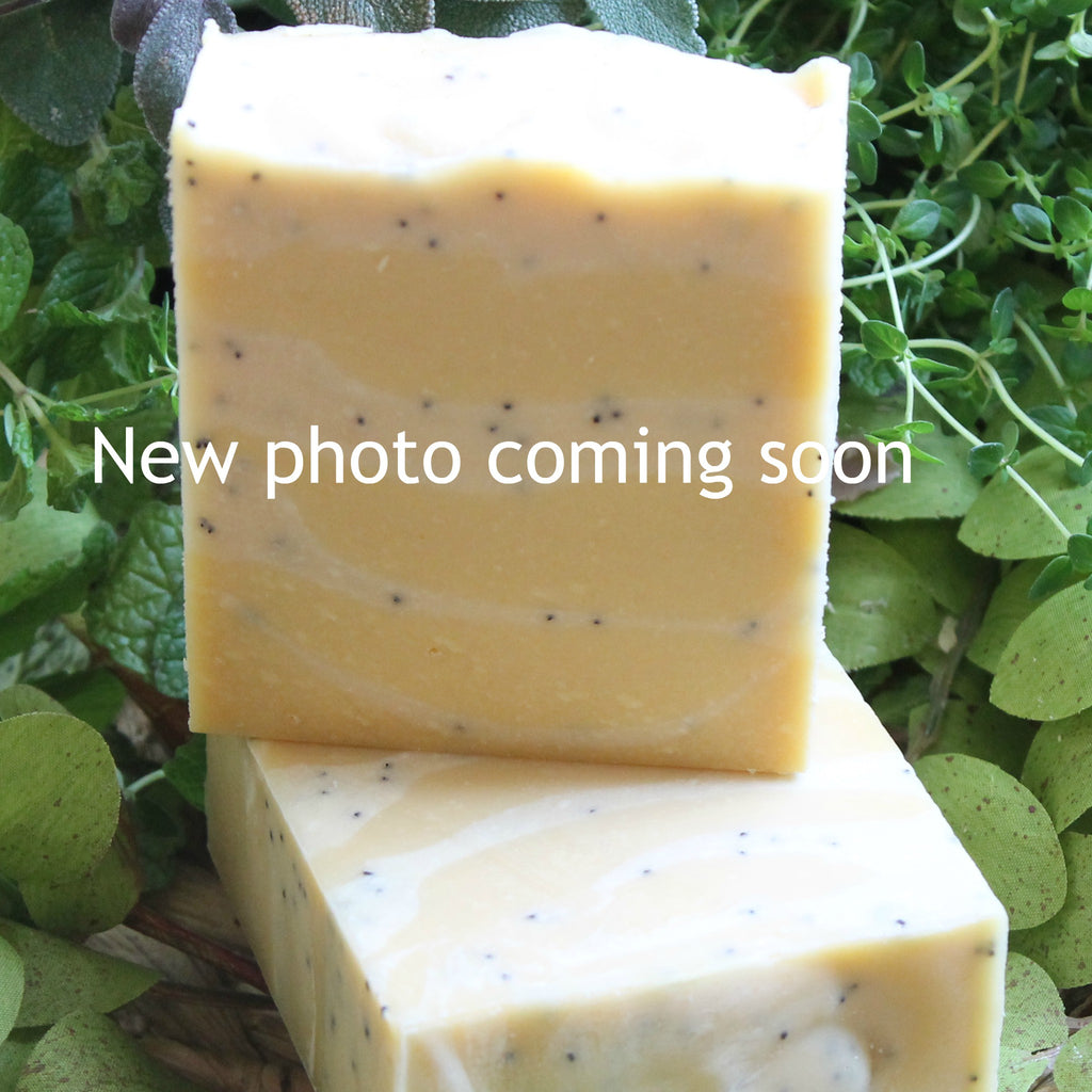 Bon Vivant Lemon Poppy Seed Handcrafted Soap