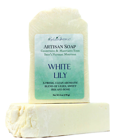 White Lily Handcrafted Artisan Soap