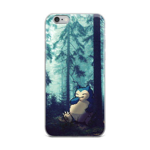 Pixelmon iPhone Case - Snorlax