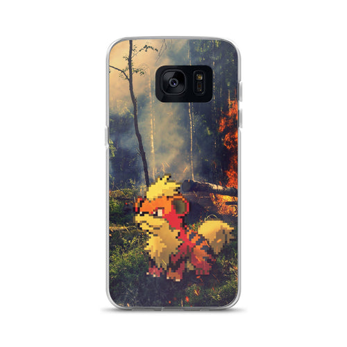 Pixelmon Samsung Case - Growlithe