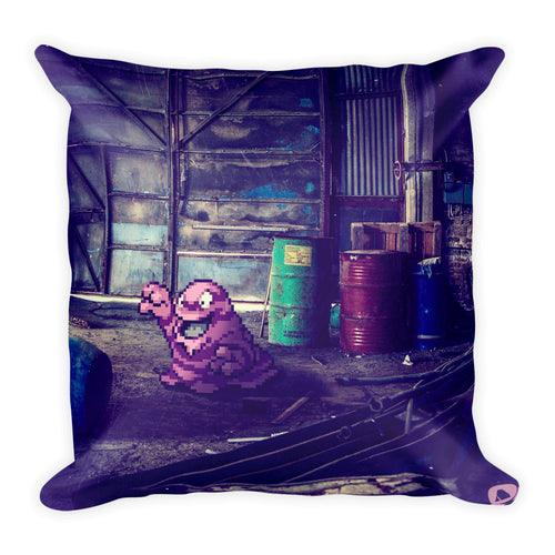 Pixelmon Square Pillow - Grimer