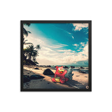 Pixelmon Framed poster - Slowbro