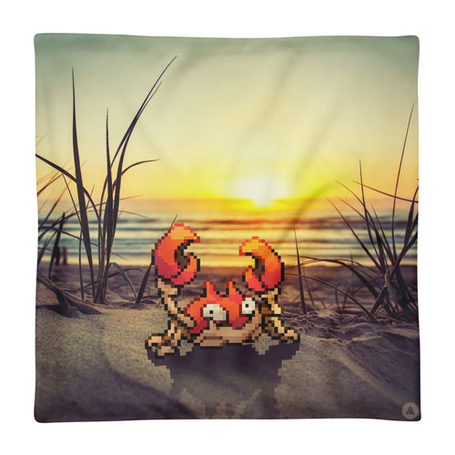 Pixelmon Cushion Cover - Krabby