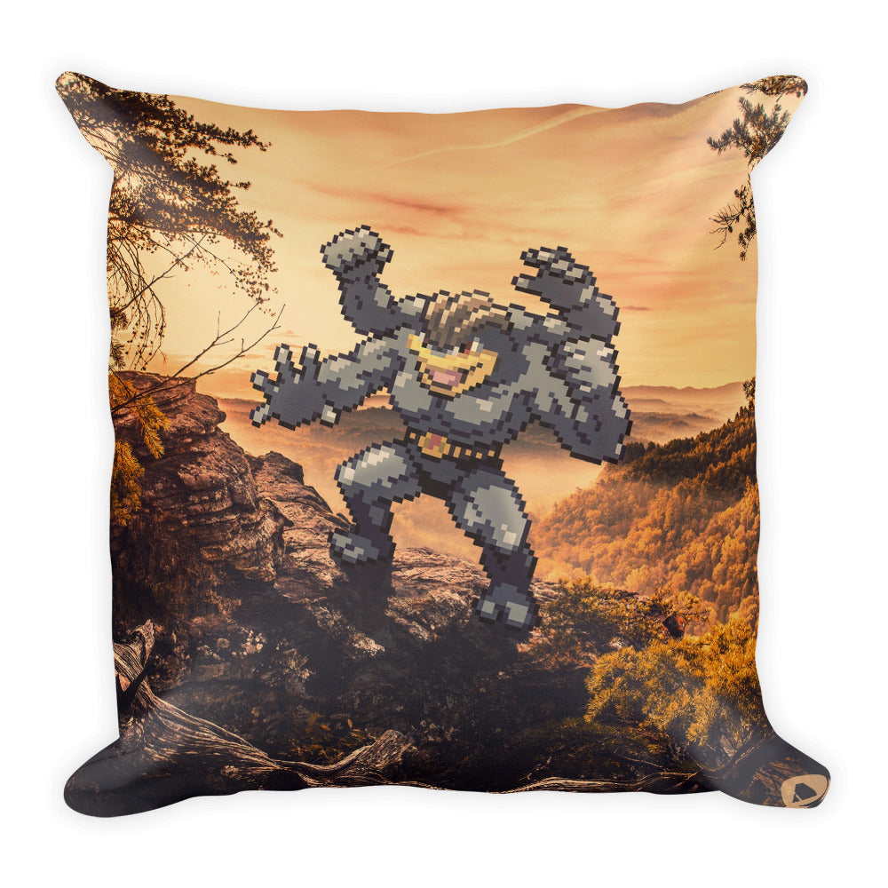 Pixelmon Square Pillow - Machamp