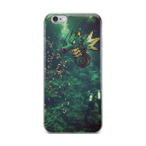 Pixelmon iPhone Case - Seadra