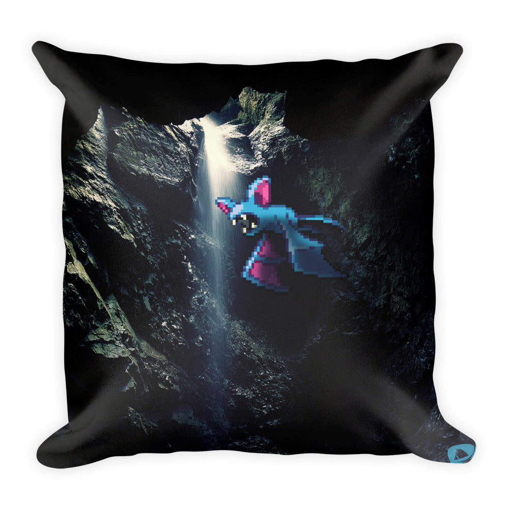 Pixelmon Square Pillow -  Zubat