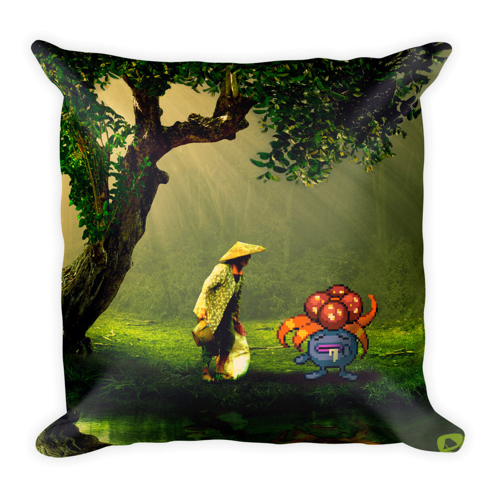 Pixelmon Square Pillow - Gloom