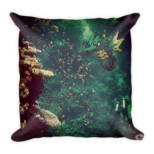Pixelmon Square Pillow - Seadra