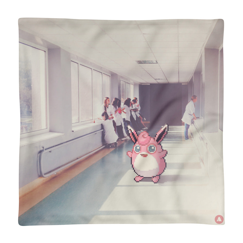 Pixelmon Cushion Cover - Wigglytuff
