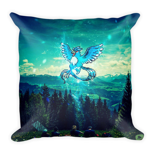Pixelmon Square Pillow - Articuno