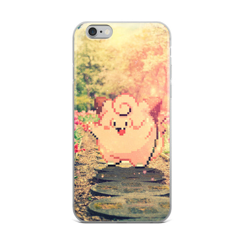 Pixelmon iPhone Case - Clefairy