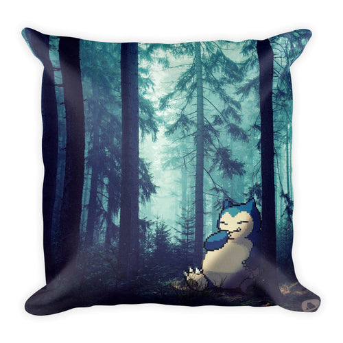 Pixelmon Square Pillow - Snorlax