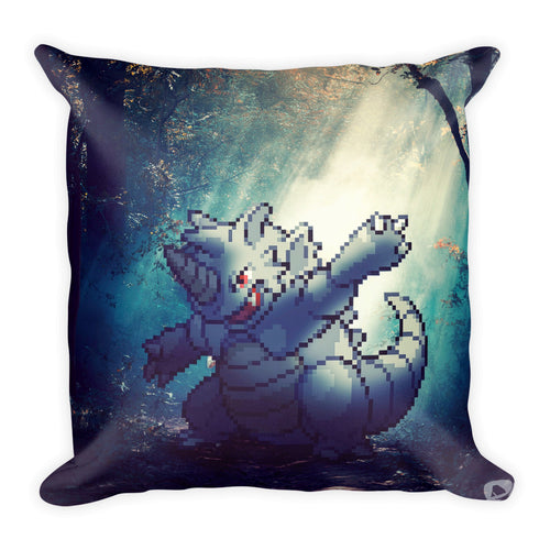 Pixelmon Square Pillow - Rhydon