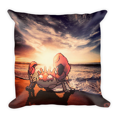 Pixelmon Square Pillow - Kingler