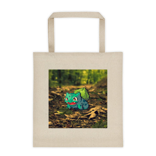 Pixelmon Tote bag - Bulbasaur