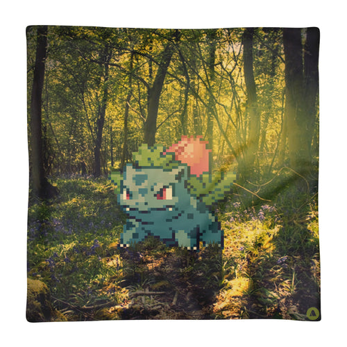 Pixelmon Cushion Cover - Ivysaur