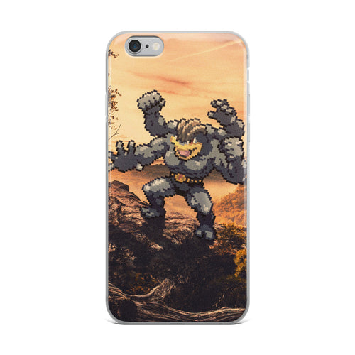 Pixelmon iPhone Case - Machamp
