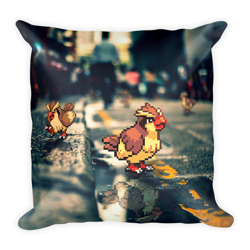 Pixelmon Square Pillow - Pidgey