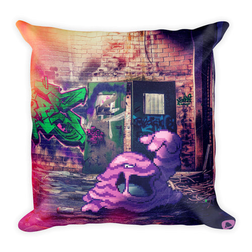 Pixelmon Square Pillow - Muk