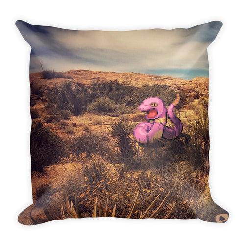 Pixelmon Square Pillow - Ekans