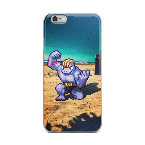 Pixelmon iPhone Case - Machoke