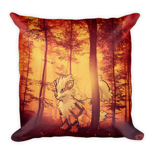Pixelmon Square Pillow - Arcanine