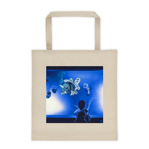 Pixelmon Tote Bag - Seaking
