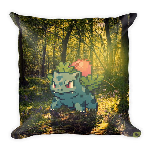 Pixelmon Square Pillow - Ivysaur
