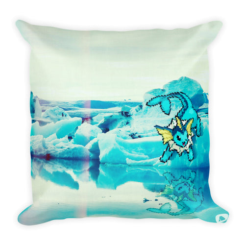 Pixelmon Square Pillow - Vaporeon
