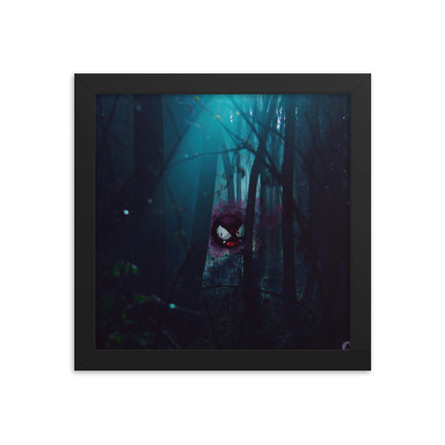 Pixelmon Framed poster - Ghastly