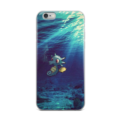 Pixelmon iPhone Case - Horsea