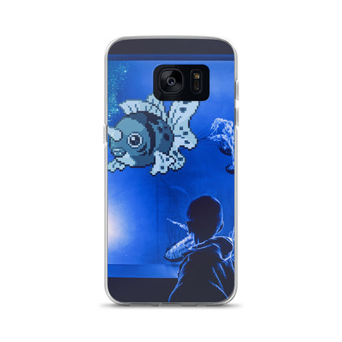 Pixelmon Samsung Case - Seaking